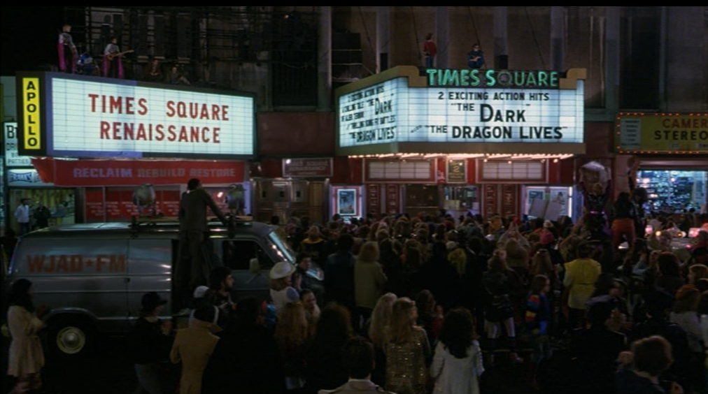 times square film still