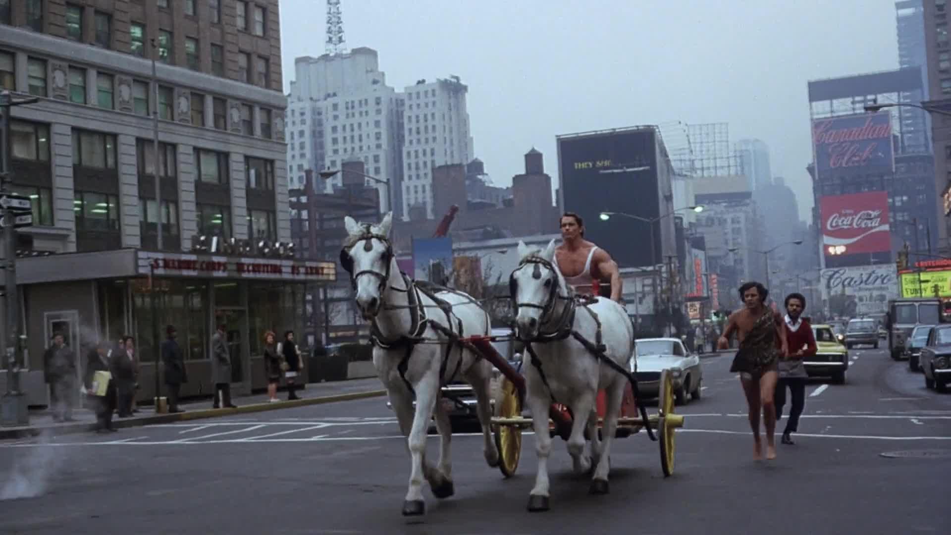 Hercules in New York film still 1