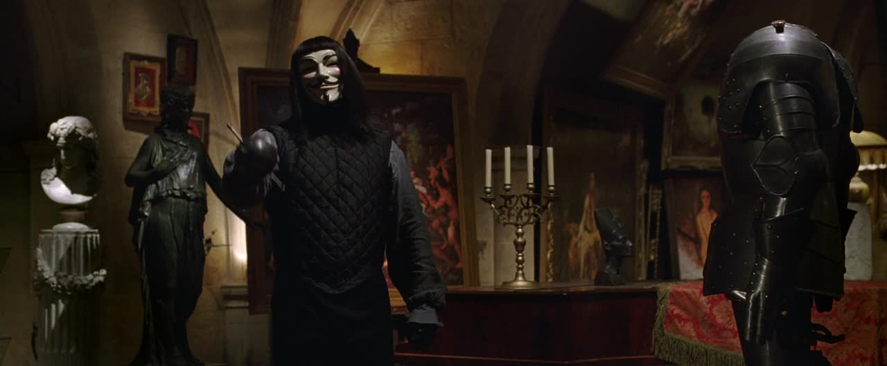 Films in Films  ...V For Vendetta (2005) Film