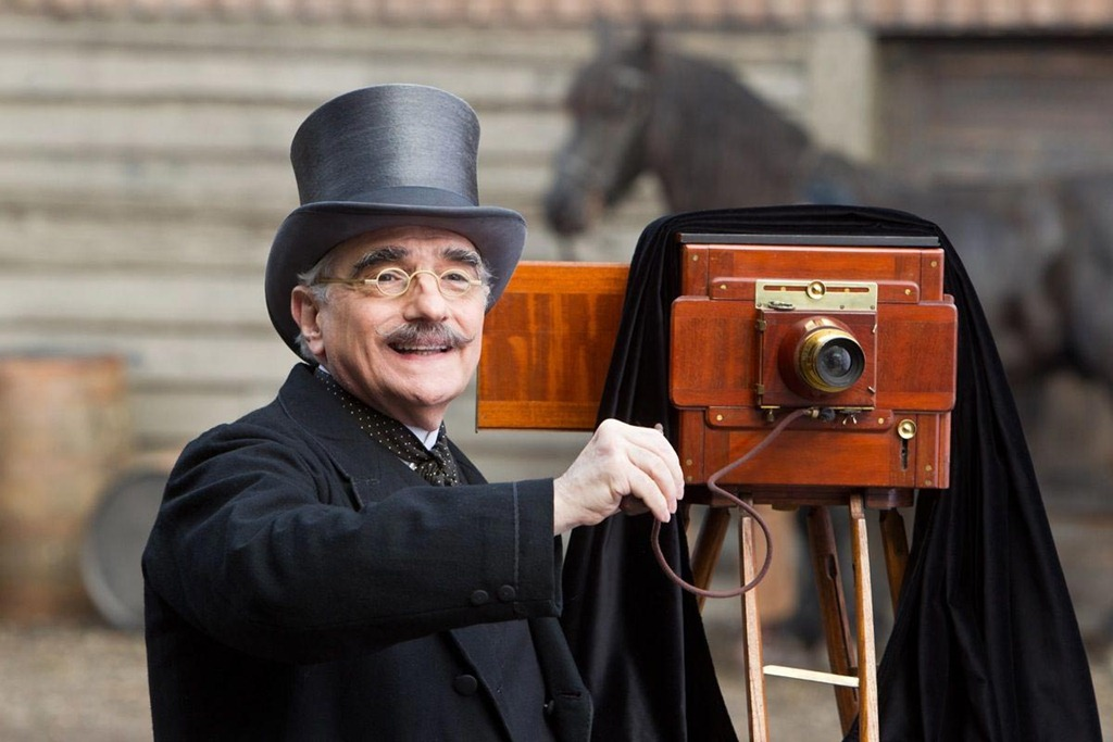 Hugo Scorsese cameo